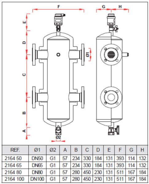 séparateur hydraulique chauffage