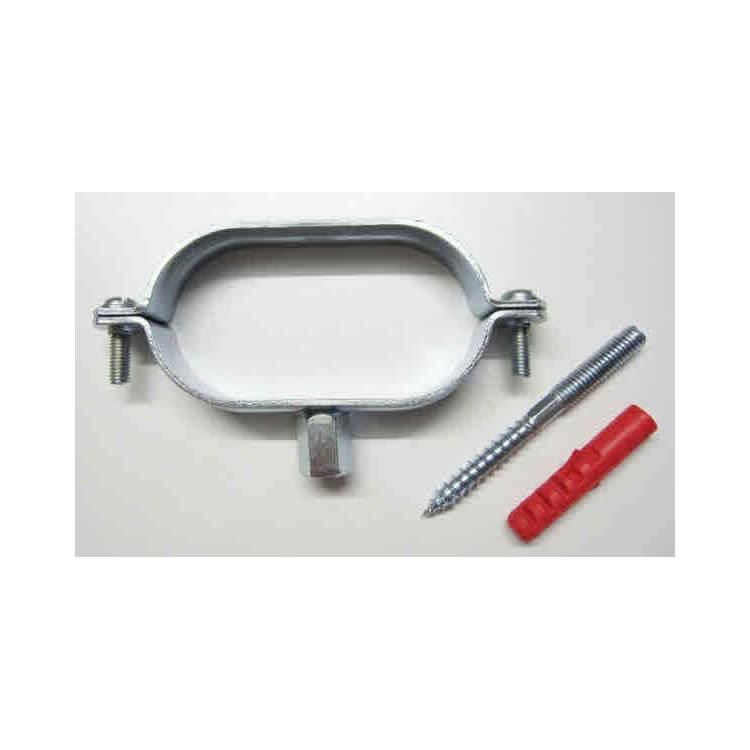 Colliers de fixation pour tube inox nu, isolé et double