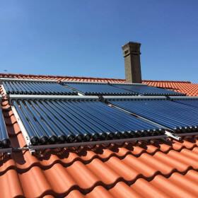 Capteur solaire thermique à tubes sous vide et caloducs CPC MAX