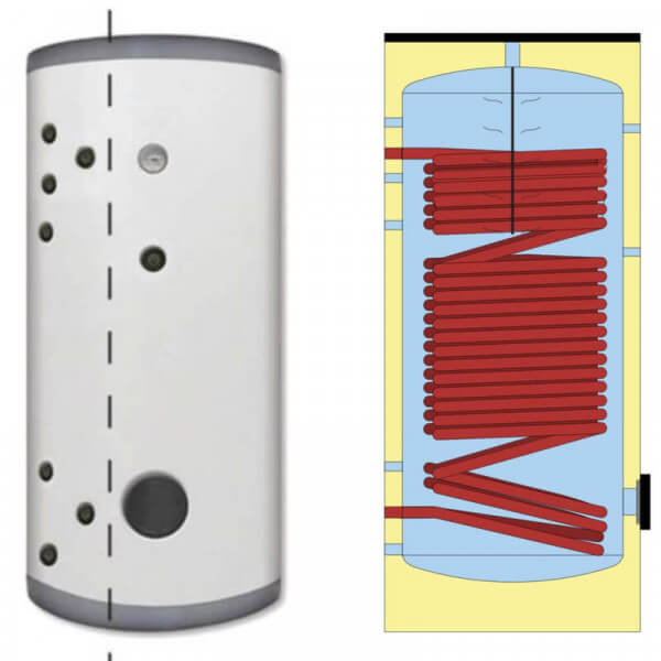 Ballon ECS pour pompe à chaleur