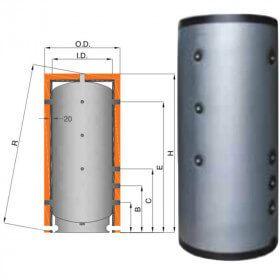 Ballon Inox 316L tampon 100 l à 900 litres