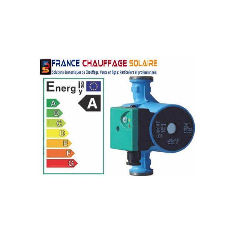 Circulateur électronique ERP pour circuit de chauffage Classe A