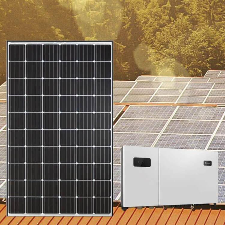 Kit tertiaire 72 kWc 240 modules Qcells 2 onduleurs Huawei 33KTL