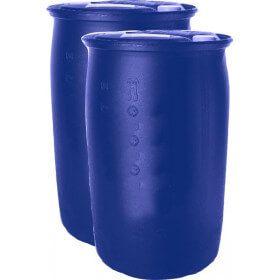 Liquide caloporteur antigel prêt à l'emploi -23 °C en fût de 210 litres.