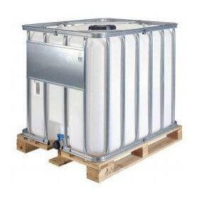 Container 1000L fluide caloporteur antigel glycolé concentré -50°C/+280°C