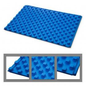 Dalle isolante à plots épaisseur 50 mm pour plancher chauffant hydro