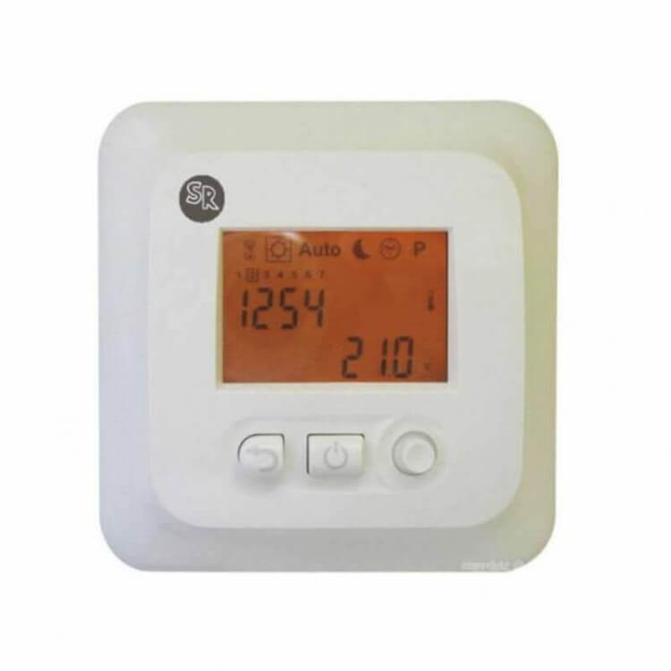 Thermostat programmable digital encastrable TH410