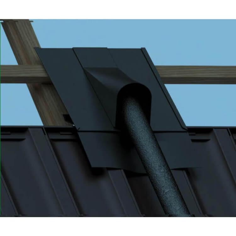 Traversée de toiture pour liaison solaire panneaux SunHP