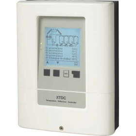 Régulateur solaire XTDC solaire avec interface Ethernet en option