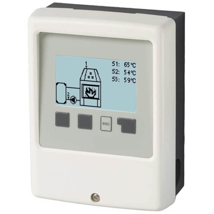 Régulateur SBMC pour chauffage chaudière bois
