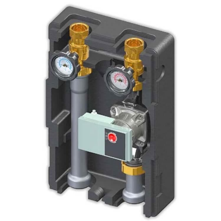 Module Hydraulique de chauffage direct DN25 LOVATO