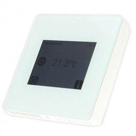 Thermostat programmable avec contrôle par WIFI blanc