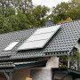 capteur solaire thermique installation sur toiture