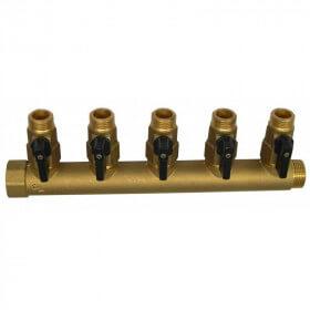 """Collecteur laiton MF3/4"""" / M1/2"""" et MF1"""" / M1/2"""""""