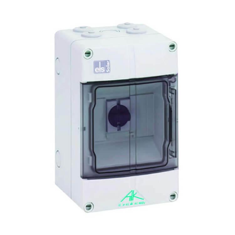 Coffret de protection DC pour panneau solaire