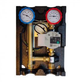 Module hydraulique de chauffage 2 voies avec vanne thermostatique