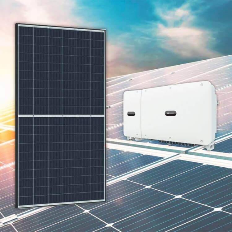 Kit tertiaire 99 kWc 350 modules Qcells 3 onduleurs Huawei 33KTL