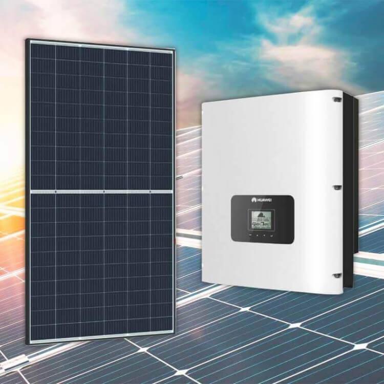 Kit tertiaire 20 kWc 68 modules Qcells onduleur centralisé Huawei 20KTL