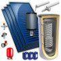 Chauffe eau solaire 1000L 4 panneaux option drain back KIT BY FCS