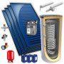 Chauffe eau solaire 1000L 4 panneaux KIT BY FCS