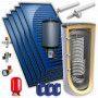 Chauffe eau solaire 1000L 5 panneaux option drain back KIT BY FCS