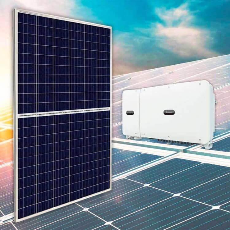 Centrale solaire canadian solar pour revente 36 kWc, Onduleur centralisé Huawei 33KTL