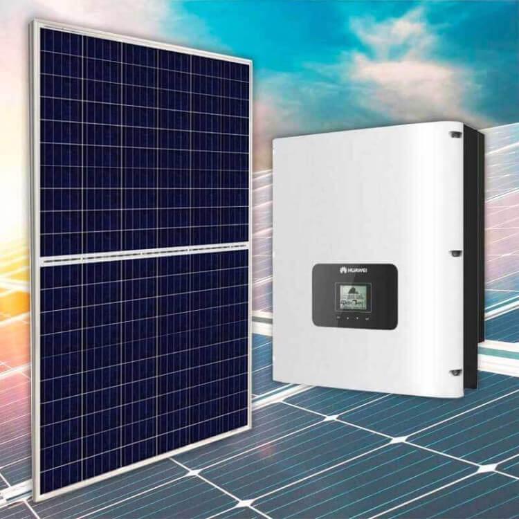 Kit tertiaire 20 kWc 68 modules canadian solar onduleur centralisé Huawei 20KTL