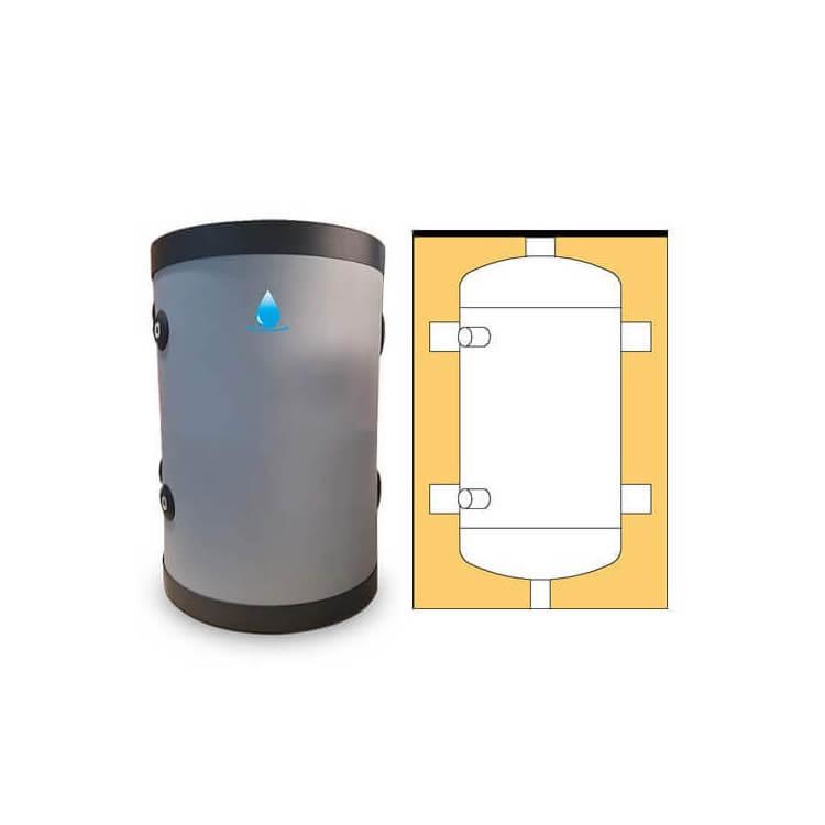 Bouteille de mélange 25 litres pour pompe à chaleur