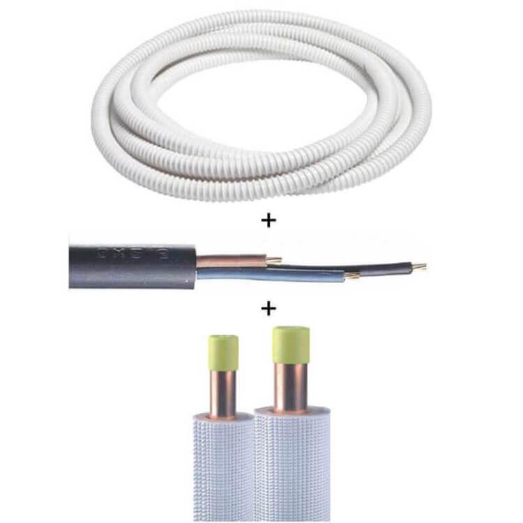 Kit de raccordement et fixation - Climatisation avec unité extérieure