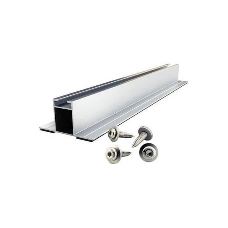 Supports en surimposition bac acier Renusol pour panneau solaire