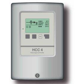 Régulation climatique  HCC4 avec commande chaudière