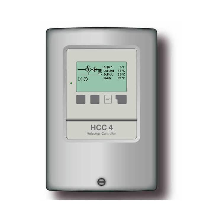 Régulation climatique chauffage SOREL HCC4 avec commande chaudière