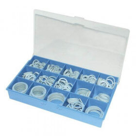 Coffret joint fibre bleu sans amiante