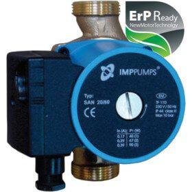 Circulateur ERP pour circuit de bouclage sanitaire