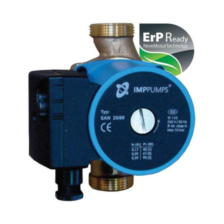 Circulateur électronique ERP pour circuit de bouclage sanitaire