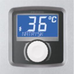 Afficheur LCD du chauffe eau instantané électrique à puissance réglable et commande électronique KOSPEL EPME Electronic
