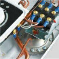 Enclenchement automatique du chauffe eau électrique instantané KDH Luxus Hydraulic