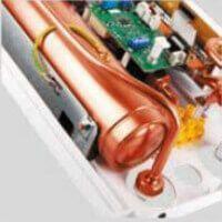 Résistance cuivre du chauffe eau instantané KDH Luxus Hydraulic