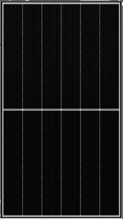 Panneaux solaires Qcells cadre noir 375 Wc monocristallins