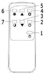 télécommande climatiseur mobile ARGO KENNY 2kW