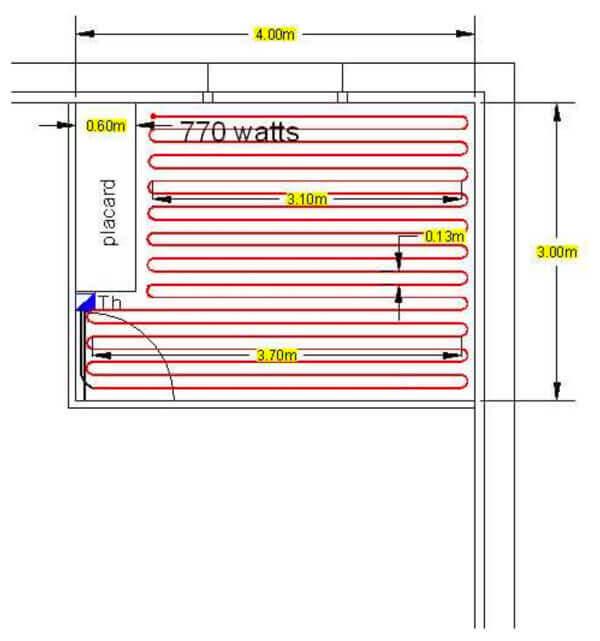 schema technique du cable kit 10 w