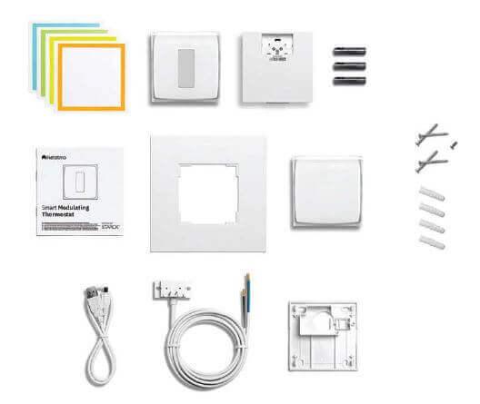 Composition du pack avec Thermostat Modulant Intelligent