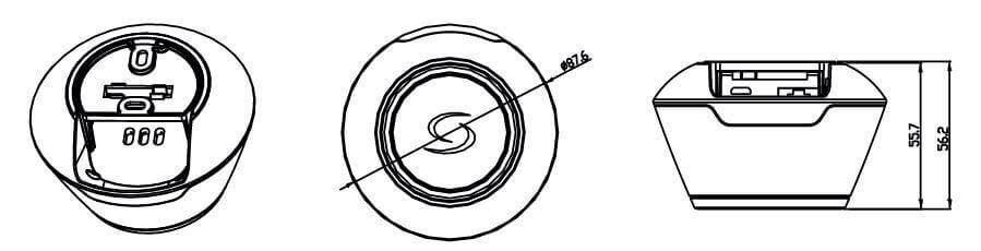 Schéma passerelle universelle Salus UGE600