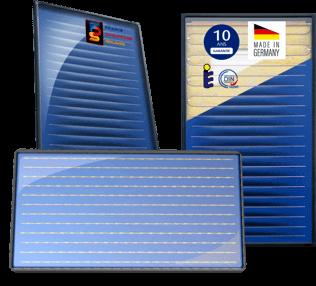 Panneaux solaires drain back ou circulation forcée SunHp 2.5