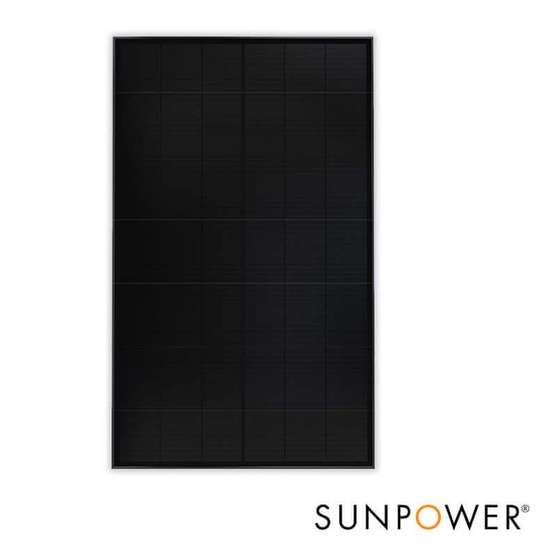 Panneau solaire Sunpower Maxeon3 325 et 375 Wc