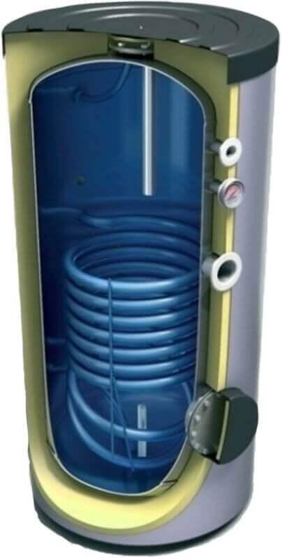 Ballon solaire 200, 300, 400, 500 litres pré-équipé pour système de production d'eau chaude sanitaire