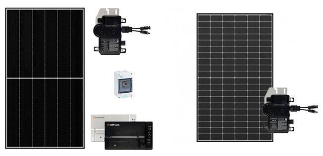 Kits solaires micro-onduleurs