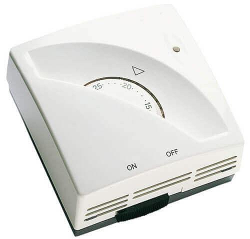 Le thermostat d'ambiance assure le contrôle de température complet de votre installation de chauffage électrique