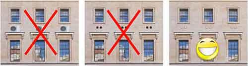 Intégration architecturale du climatiseur monobloc mural pour bâtiments classés