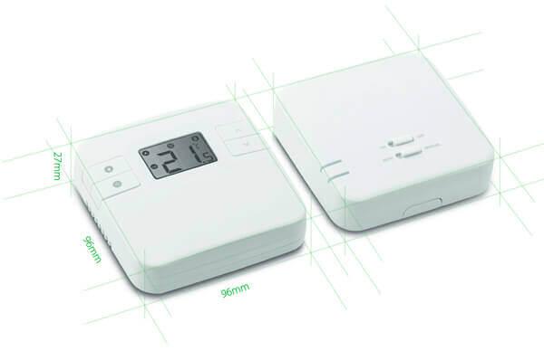 dimensions du thermostat connecté numérique
